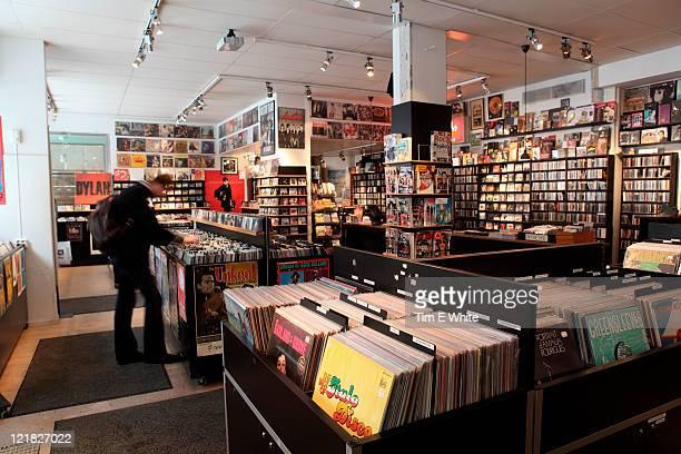 Pet Sounds record shop Sodermalm, Stockholm, Sweden