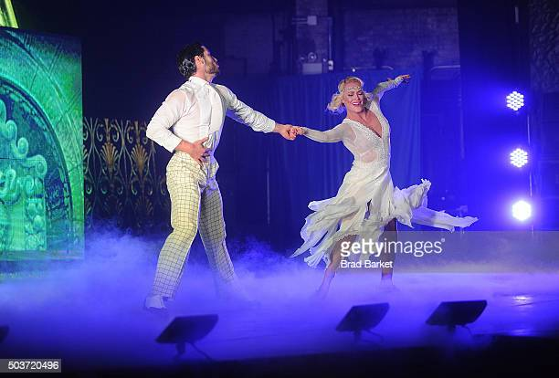 Peta Murgatroyd and Valentin Aleksandrovich Chmerkovskiy perfom diring Dancing With The Stars Live 'Dance All Night Tour' New York New York at Beacon...