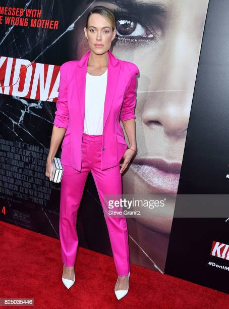 Peta Murgatroyd arrives at the Premiere Of Aviron Pictures' 'Kidnap' at ArcLight Hollywood on July 31 2017 in Hollywood California