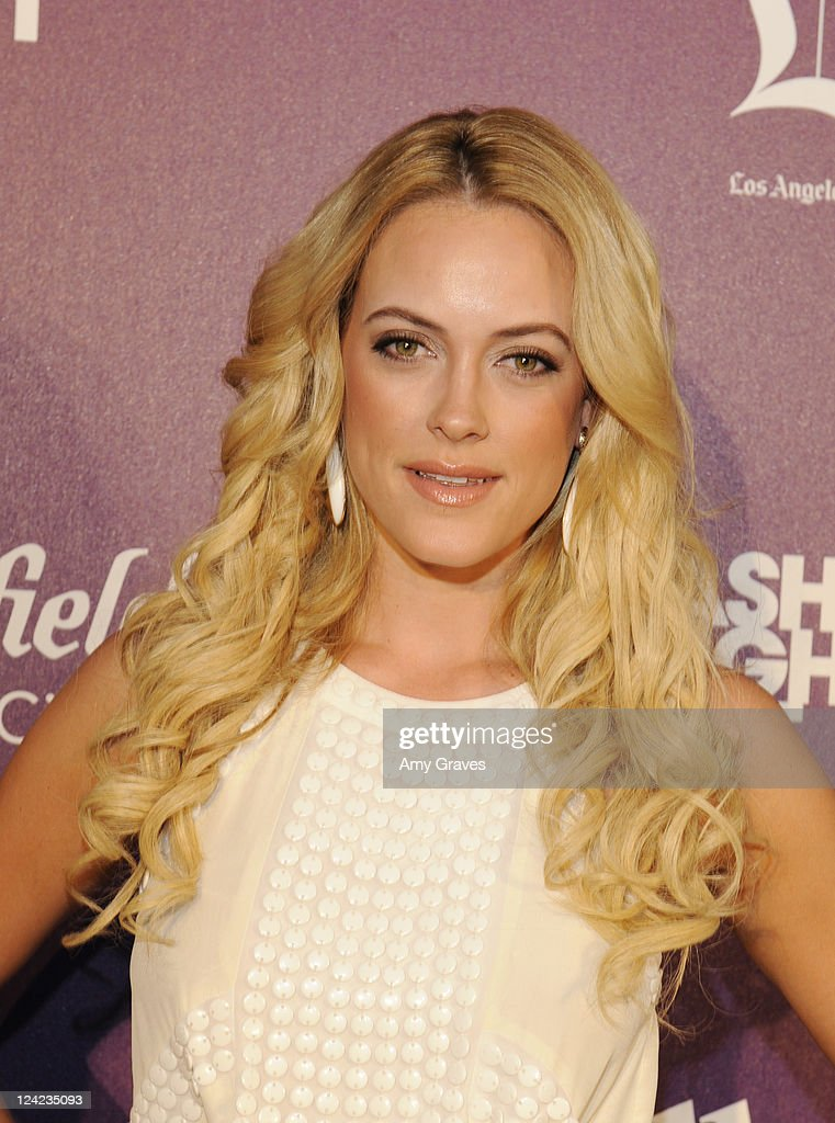 Peta Murgatroyd attends Fashion's Night Out celebration at Westfield Century City on September 8, 2011 in Los Angeles, California.