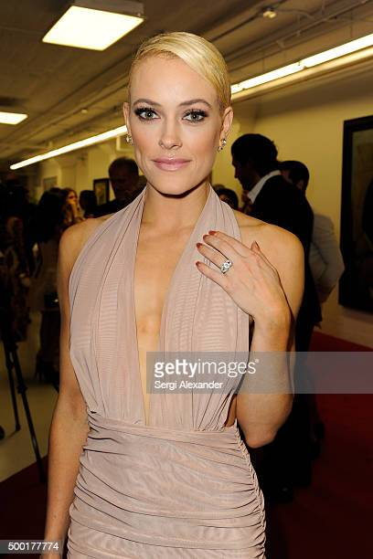 Peta Murgatroyd attends SWAY Alfalit Gala at Gary Nader Art centre on December 5 2015 in Miami Florida