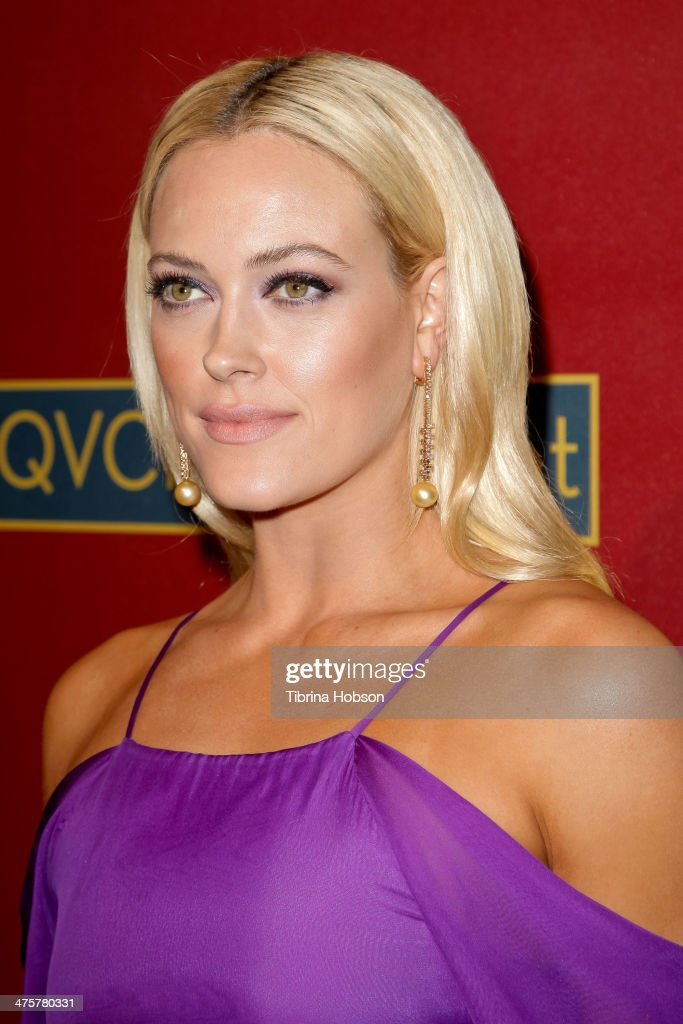 <a gi-track='captionPersonalityLinkClicked' href=/galleries/search?phrase=Peta+Murgatroyd&family=editorial&specificpeople=6824437 ng-click='$event.stopPropagation()'>Peta Murgatroyd</a> attends the QVC 5th annual red carpet style event at The Four Seasons Hotel on February 28, 2014 in Beverly Hills, California.