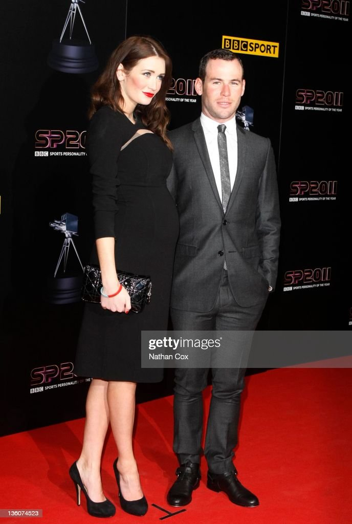 Peta Todd and <a gi-track='captionPersonalityLinkClicked' href=/galleries/search?phrase=Mark+Cavendish&family=editorial&specificpeople=684957 ng-click='$event.stopPropagation()'>Mark Cavendish</a> attend the awards ceremony for BBC Sports Personality of the Year 2011 at Media City UK on December 22, 2011 in Manchester, England.