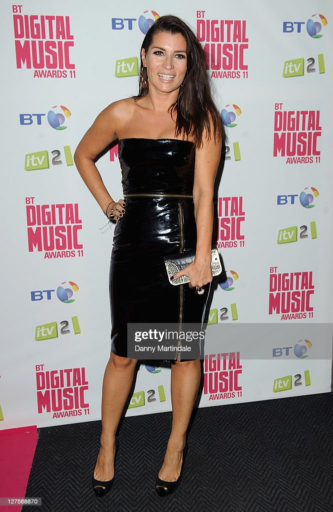 Peta Todd attends BT Digital Music Awards at The Roundhouse on September 29, 2011 in London, England.