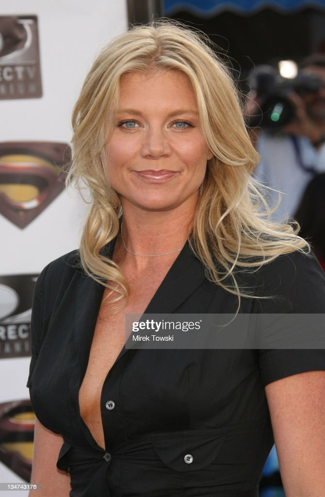 Peta Wilson during 'Superman Returns' Los Angeles Premiere at Mann Village and Bruin Theaters in Westwood, California, United States.