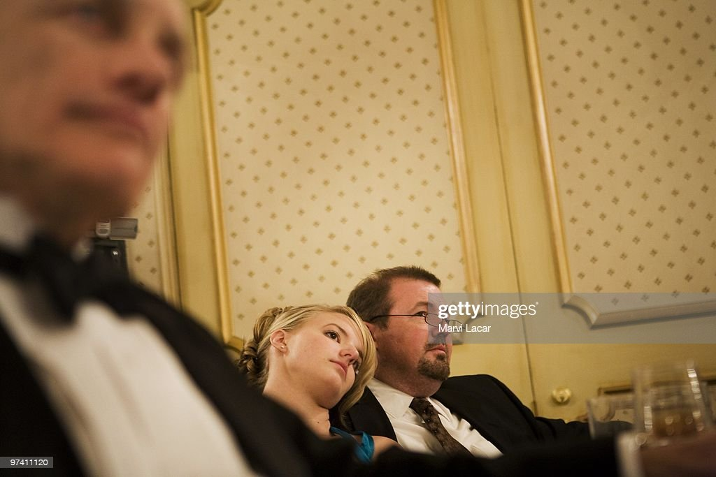 Pete Blum accompanies his daughter, Katie, 17, to the Father Daughter Purity Ball on May 16, 2008 in Colorado Springs, Colorado. The ball, founded in 1998 by Randy and Lisa Wilson, focuses on the idea that a trustworthy and nurturing father will influence his daughter to lead a lifestyle of 'integrity and purity.'