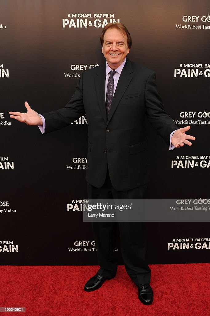 Pete Collins attends the 'Pain & Gain' premiere on April 11, 2013 in Miami Beach, Florida.