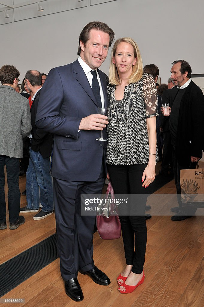Pete Cort and Laura Goodwin attend Rory McEwen - The Colours of Reality at Kew Gardens on May 20, 2013 in London, England.