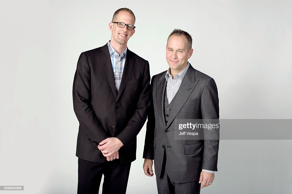 <a gi-track='captionPersonalityLinkClicked' href=/galleries/search?phrase=Pete+Docter&family=editorial&specificpeople=3014517 ng-click='$event.stopPropagation()'>Pete Docter</a> and Jonas River are photographed at the 2016 Oscar Luncheon for People.com on February 8, 2016 in Beverly Hills, California.