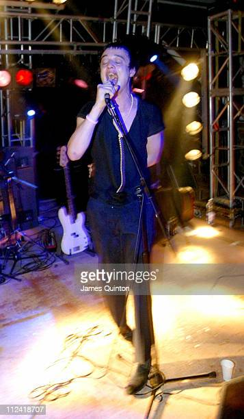 Pete Doherty of Babyshambles during Manumission Opening Party at Privilege in San Rafael Ibiza Spain