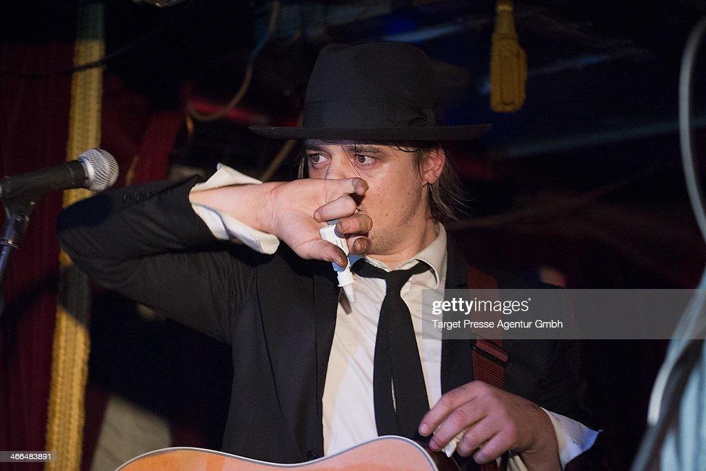 Pete Doherty Performs In Berlin