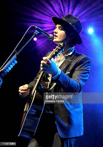 Pete Doherty performs at Manchester Academy on May 18 2011 in Manchester England