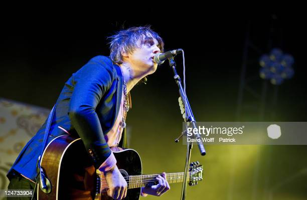 Pete Doherty performs at We Love Green Festival Day 02 at Parc de Bagatelle on September 11 2011 in Paris France