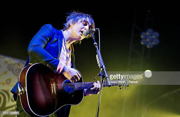 Pete Doherty performs at We Love Green Festival Day 2 at Parc de Bagatelle on September 11 2011 in Paris France