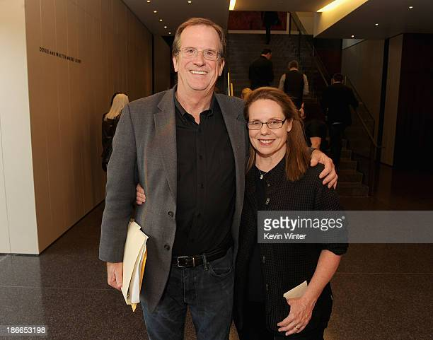 Pete Hammond and Madelyn Hammond attend Deadline Hollywood's The Contenders on November 2 2013 in Beverly Hills California