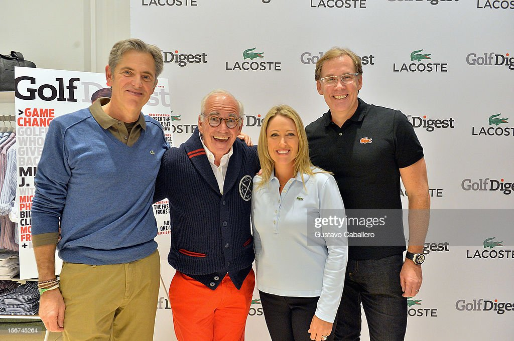 Pete Hunsinger,Marty Hackel, <a gi-track='captionPersonalityLinkClicked' href=/galleries/search?phrase=Cristie+Kerr&family=editorial&specificpeople=213495 ng-click='$event.stopPropagation()'>Cristie Kerr</a> and Steve Birkhold attends the Lacoste & Golf Digest Celebrate Links On Lincoln Honoring <a gi-track='captionPersonalityLinkClicked' href=/galleries/search?phrase=Cristie+Kerr&family=editorial&specificpeople=213495 ng-click='$event.stopPropagation()'>Cristie Kerr</a> on November 19, 2012 in Miami, Florida.