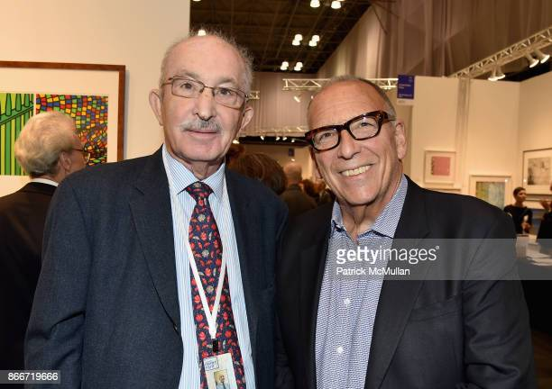 Pete Kraus and attend the IFPDA Fine Art Print Fair Opening Preview at The Jacob K Javits Convention Center on October 25 2017 in New York City