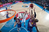 Pete Mickeal #33 of FC Barcelona Regal in action during the 20122013 Turkish Airlines Euroleague Top 16 Date 6 between FC Barcelona Regal v...