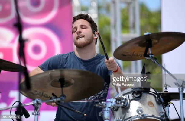 Pete Nappi of Ocean Park Standoff performs osntage at the Village during 1027 KIIS FM's 2017 Wango Tango at StubHub Center on May 13 2017 in Carson...