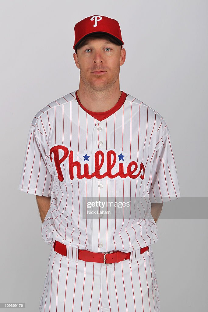 Pete Orr of the Philadelphia Phillies poses for a photo during Spring Training Media Photo Day at Bright House Networks Field on February 22 2011 in...