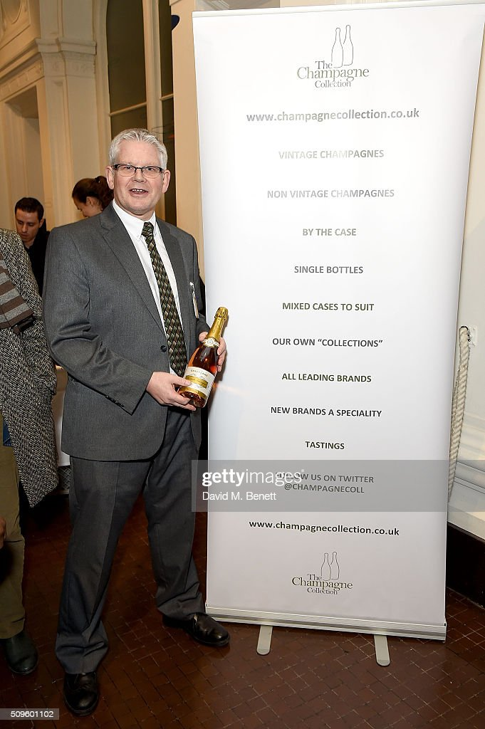 Pete Pedrick from The Champagne Collection attends The Calder Prize 2005-2015 presented by Pace London And The Calder Foundation, on February 11, 2016 in London, England.
