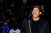 Pete Rock and Roy Ayers perform on stage at The Jazz Cafe on July 20 2011 in London United Kingdom