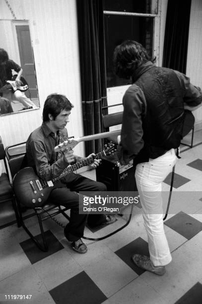Pete Shelley and Steve Diggle of The Buzzcocks in Belfast 1978