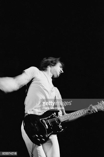 Pete Townsend performing with The Who at the Fillmore East