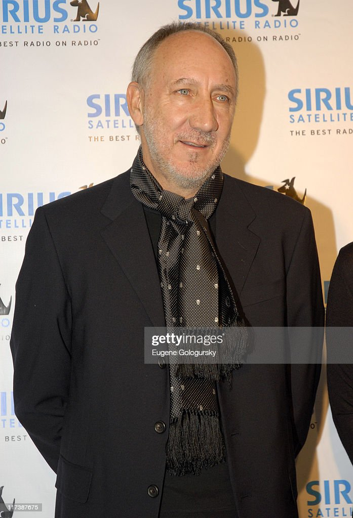 The Who Channel Launch on Sirius Satellite Radio
