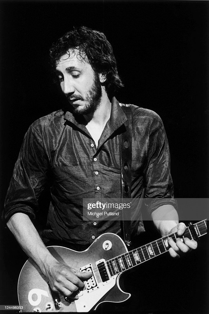 <a gi-track='captionPersonalityLinkClicked' href=/galleries/search?phrase=Pete+Townshend&family=editorial&specificpeople=203159 ng-click='$event.stopPropagation()'>Pete Townshend</a> of The Who performs on stage, USA, September 1979. He plays his Gibson Les Paul Deluxe guitar number 6.