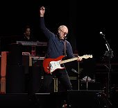 Pete Townshend performs onstage during MusiCares MAP Fund Benefit Concert at Best Buy Theater on May 28 2015 in New York City All proceeds from this...