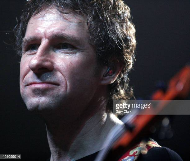 Pete Trewavas of Marillion during Marillion in Concert at The Forum in London December 5 2005 at The Forum in London Great Britain