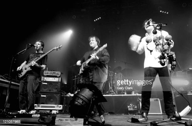 Pete Trewavas Steve Rothery and Steve Hogarth of Marillion