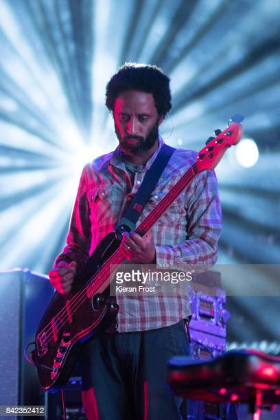 Pete Turner of Elbow performs at Electric Picnic Festival at Stradbally Hall Estate on September 3 2017 in Laois Ireland
