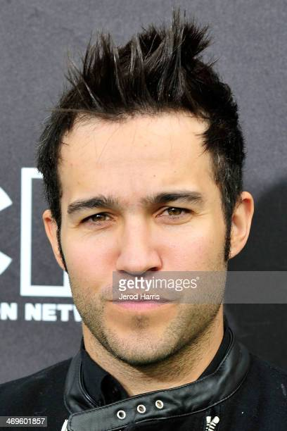 Pete Wentz arrives at the 4th Annual Cartoon Network Hall Of Game Awards at Barker Hangar on February 15 2014 in Santa Monica California