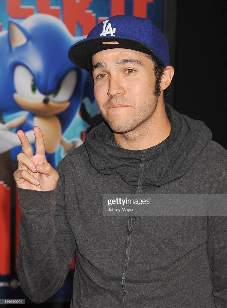 Pete Wentz arrives at the Los Angeles premiere of 'Wreck-It Ralph' at the El Capitan Theatre on October 29, 2012 in Hollywood, California.