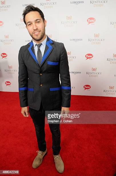 Pete Wentz attends 140th Kentucky Derby at Churchill Downs on May 3 2014 in Louisville Kentucky