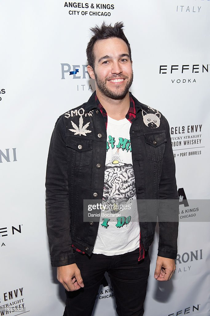 <a gi-track='captionPersonalityLinkClicked' href=/galleries/search?phrase=Pete+Wentz&family=editorial&specificpeople=595892 ng-click='$event.stopPropagation()'>Pete Wentz</a> attends the 2nd Anniversary of Angels & Kings on February 2, 2013 in Chicago, Illinois.