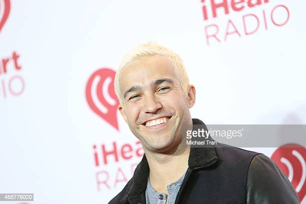Pete Wentz attends the iHeart Radio Music Festival press room held at MGM Grand Resort and Casino on September 19 2014 in Las Vegas Nevada