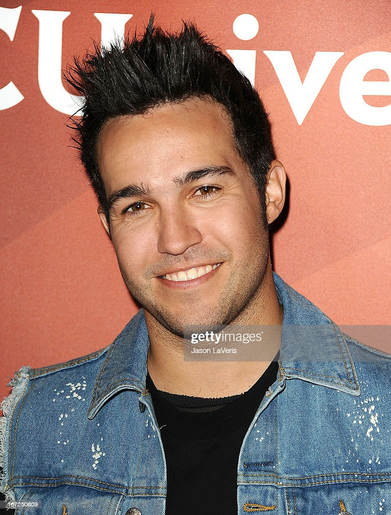 <a gi-track='captionPersonalityLinkClicked' href=/galleries/search?phrase=Pete+Wentz&family=editorial&specificpeople=595892 ng-click='$event.stopPropagation()'>Pete Wentz</a> attends the NBCUniversal summer press day at The Langham Huntington Hotel and Spa on April 22, 2013 in Pasadena, California.
