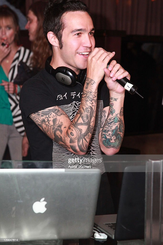 <a gi-track='captionPersonalityLinkClicked' href=/galleries/search?phrase=Pete+Wentz&family=editorial&specificpeople=595892 ng-click='$event.stopPropagation()'>Pete Wentz</a> attends the Puma x Lucky Strike Bowling Shoe launch at Lucky Strike on July 28, 2011 in New York City.