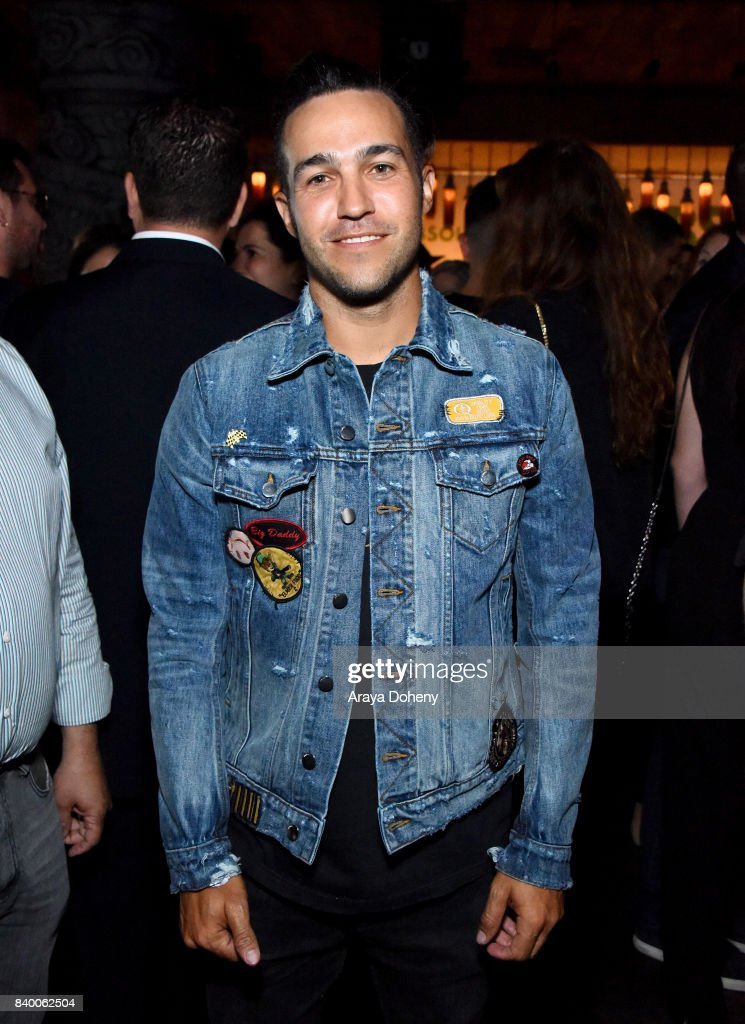 Pete Wentz attends the VMA after party hosted by Republic Records and Cadillac at TAO restaurant at the Dream Hotel on August 27, 2017 in Los Angeles, California.