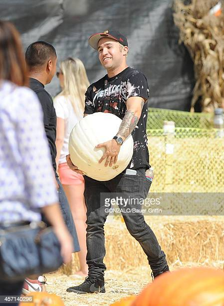 Pete Wentz is seen on October 12 2014 in Los Angeles California