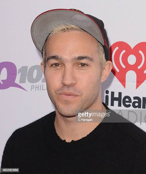 Pete Wentz of Fall Out Boy attends Q102's Jingle Ball on December 10 2014 in Philadelphia Pennsylvania