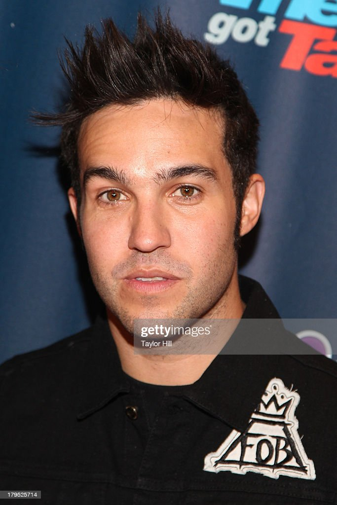 <a gi-track='captionPersonalityLinkClicked' href=/galleries/search?phrase=Pete+Wentz&family=editorial&specificpeople=595892 ng-click='$event.stopPropagation()'>Pete Wentz</a> of Fall Out Boy attends the 'America's Got Talent' Season 8 Red Carpet Event at Radio City Music Hall on September 4, 2013 in New York City.