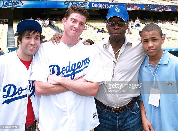 Pete Wentz of Fall Out Boy Bryan Greenberg Courtney B Vance and Tequan Richmond