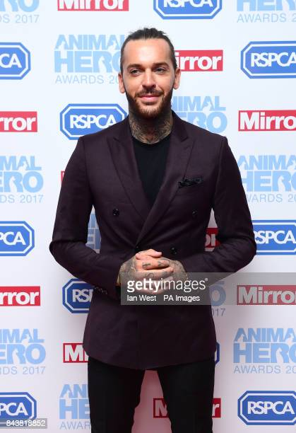 Pete Wicks attending The Animal Hero Awards held at Grosvenor House Hotel London PRESS ASSOCIATION Photo Picture date Thursday September 7 2017 Photo...