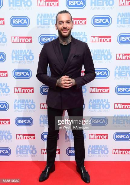Pete Wicks attending The Animal Hero Awards held at Grosvenor House Hotel London
