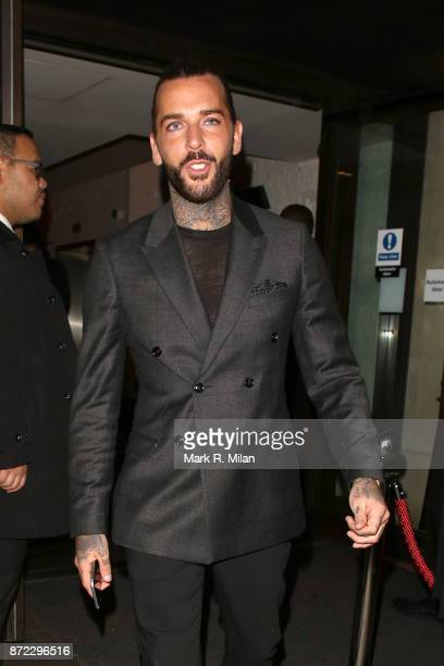 Pete Wicks attending the ITV Gala afterparty at Aqua on November 9 2017 in London England
