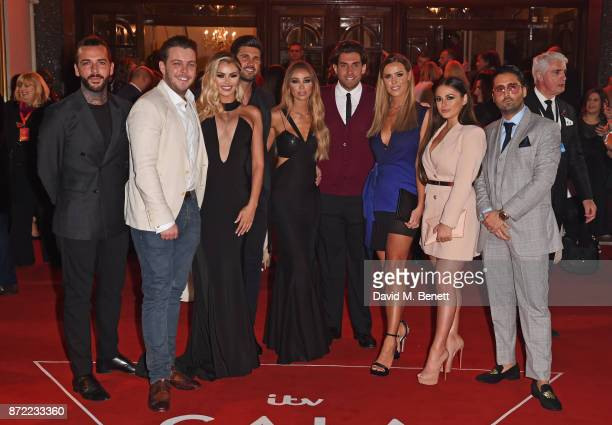 Pete Wicks James 'Diags' Bennewith Chloe Sims Dan Edgar Lauren Pope James 'Arg' Argent Chloe Meadows Courtney Green and guest attend the ITV Gala...